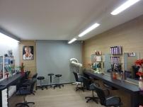 Meuble de salon de coiffure sur-mesure